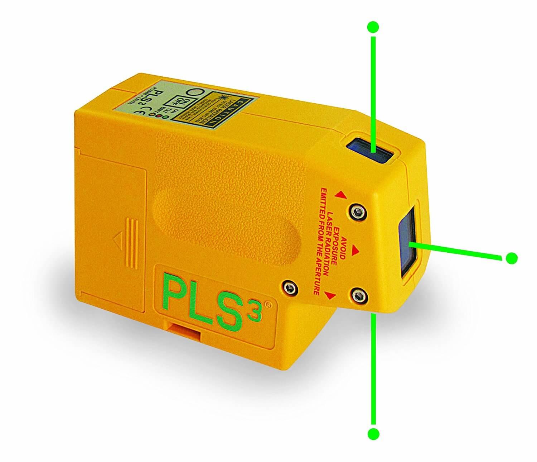 pls green beam laser level