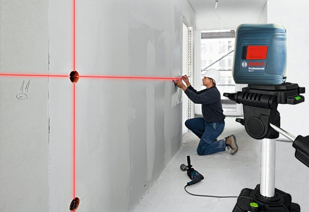 Bosch GLL 2 Self-Leveling Cross-Line Laser Level