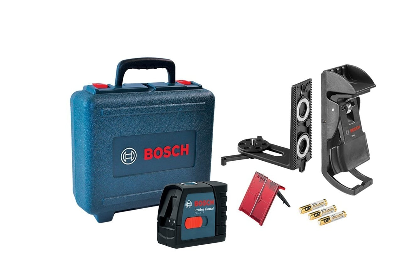 Bosch Laser Levels Product Applications In Construction