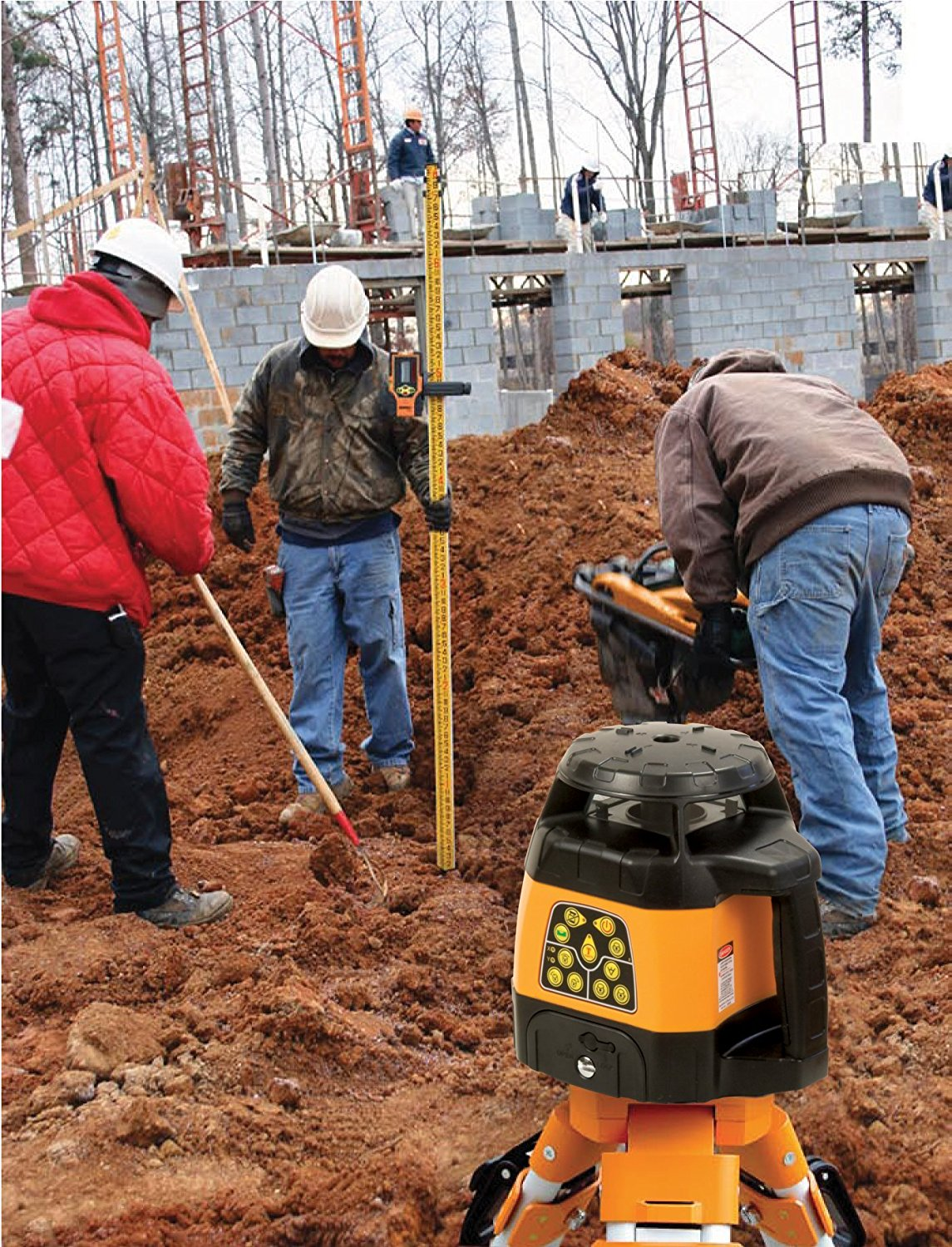 How to Choose a Rotary Laser Level for Outdoor Use?