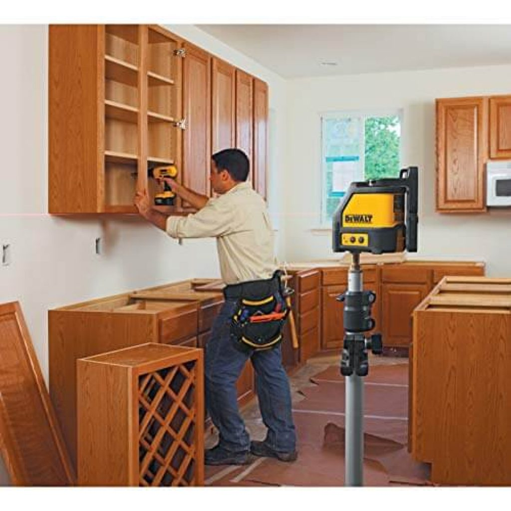 How To Install Cabinets With A Laser Level