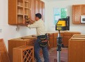 How to Install Cabinets with a Laser Level?