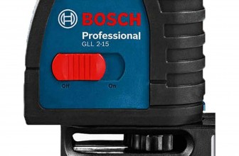 Bosch GLL 2-15 Self-Leveling Cross-Line Laser Kit Reviews